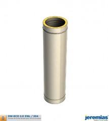 ELEMENT DROIT 500MM - ISOLE INOX à 48,30€ fabriqué par JEREMIAS