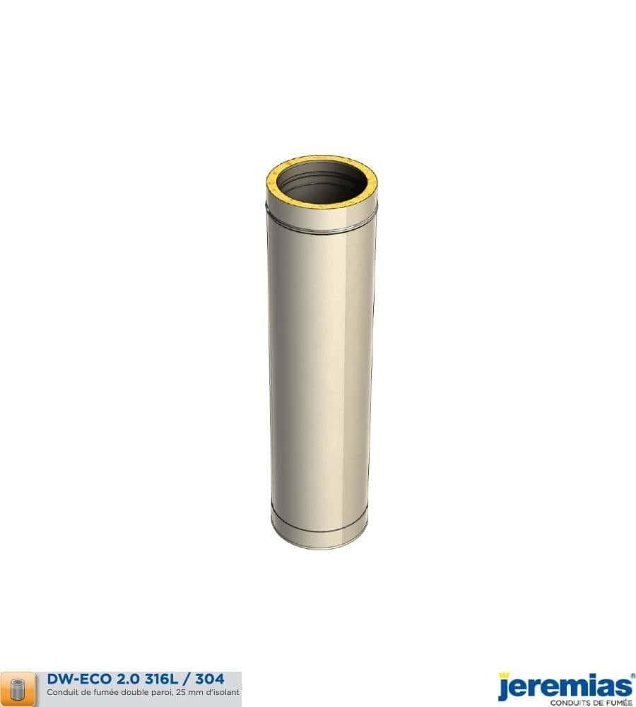 ELEMENT DROIT 250MM - ISOLE INOX à 34,30€ fabriqué par JEREMIAS