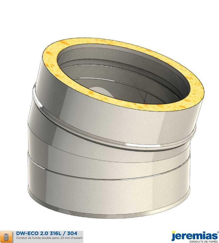 COUDE 15 - ISOLE INOX à 68,40€ fabriqué par JEREMIAS