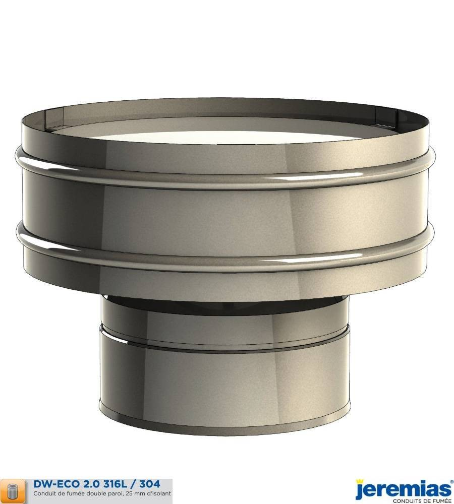 CHAPEAU ANTI REFOULEUR - ISOLE INOX à 66,80€ fabriqué par JEREMIAS
