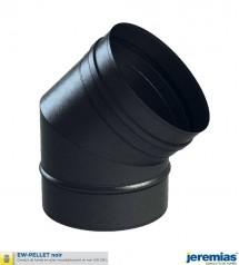 COUDE 45 - INOX 316 NOIR à 24,30€ fabriqué par JEREMIAS
