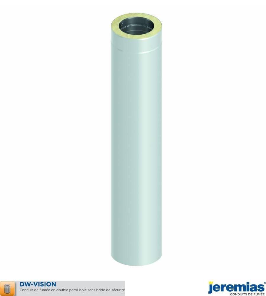 ELEMENT DROIT 1000MM - ISOLE INOX BROSSE à 188,00€ fabriqué par JEREMIAS