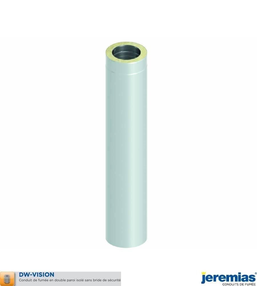ELEMENT DROIT 500MM - ISOLE INOX BROSSE à 100,60€ fabriqué par JEREMIAS