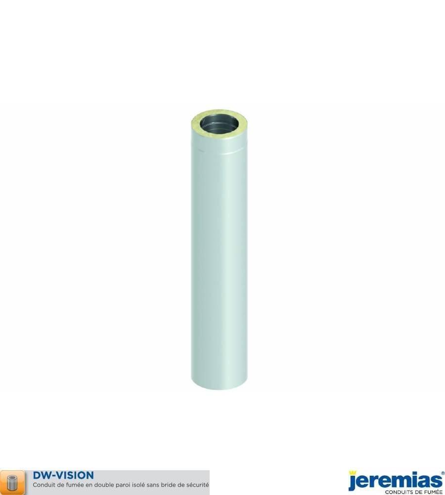 ELEMENT DROIT 250MM - ISOLE INOX BROSSE à 75,90€ fabriqué par JEREMIAS