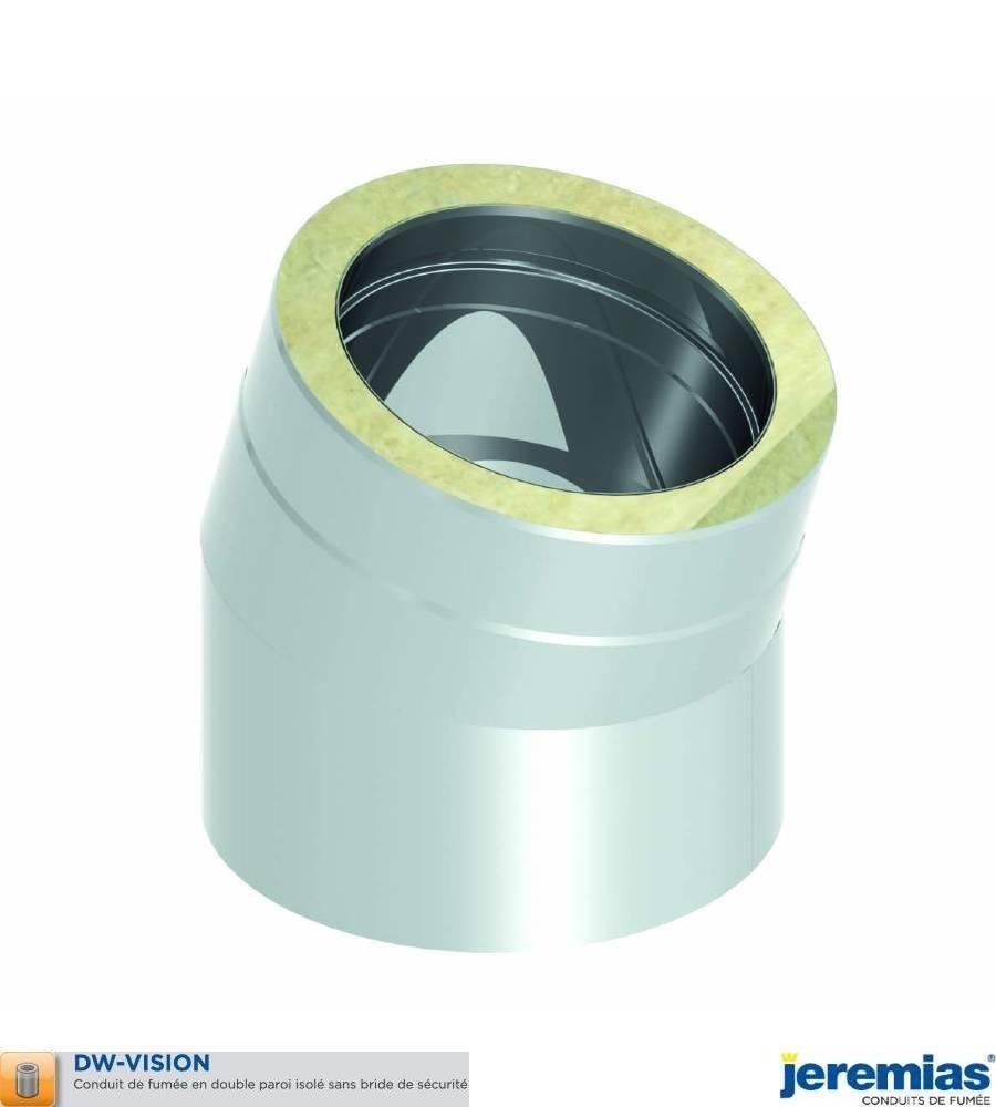 COUDE 15 - ISOLE INOX BROSSE à 95,50€ fabriqué par JEREMIAS