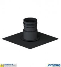PLAQUE DE FINITION POUR TUBAGE RIGIDE INOX - ACIER BOIS FERROLUX à 78,20€ fabriqué par JEREMIAS