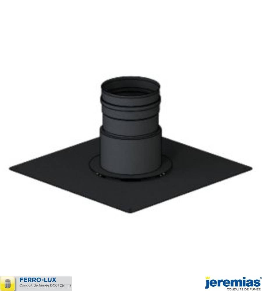 PLAQUE DE FINITION POUR TUBAGE FLEXIBLE INOX - ACIER BOIS FERROLUX à 78,20€ fabriqué par JEREMIAS