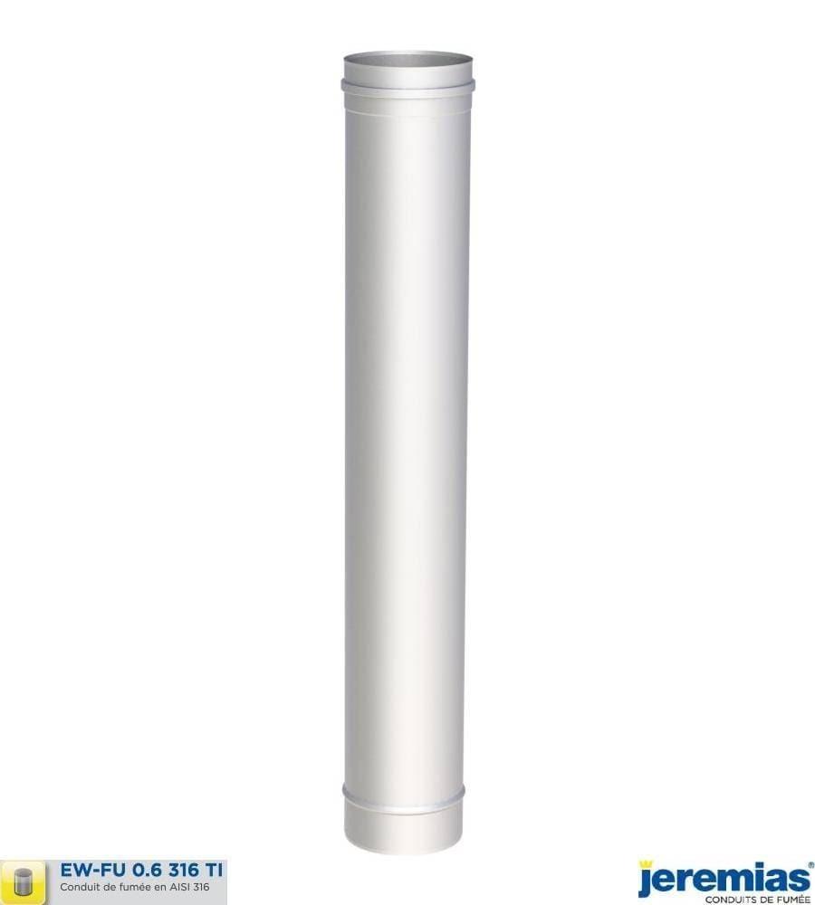 ELEMENT DROIT 1000MM - INOX 316 à 27,30€ fabriqué par JEREMIAS