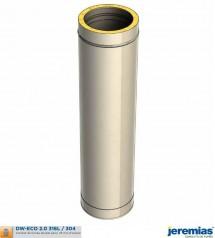 ELEMENT DROIT 1000MM - ISOLE INOX à 74,20€ fabriqué par JEREMIAS